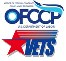 OFCCP and Vets logos